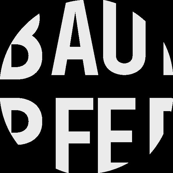 JAALA Grey Melange White Loose fitted sweatshirt with round neckline and Baum und Pferdgarten logo at the front - back image